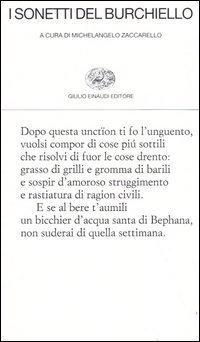 """Sull'edizione Zaccarello delle """"Rime"""" del Burchiello"""