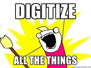 Digitalizzare tutto