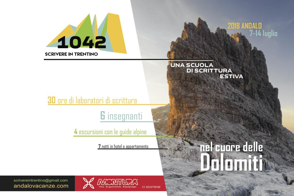 Una scuola di scrittura sulle Dolomiti: Andalo, 7-14 luglio