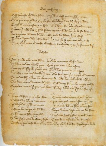 """Su """"Le rime disperse di Petrarca"""""""